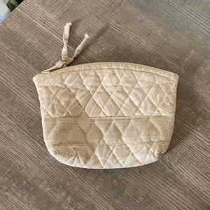 Vintage Vera Bradley Natural Make up Bag